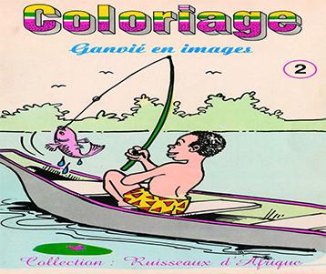 Coloriages: Ganvié