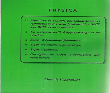 SPCT: Physica 6ème